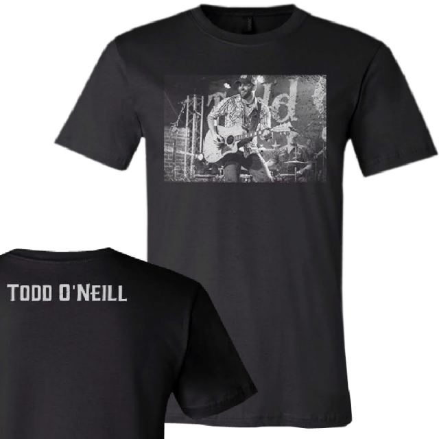Todd O'Neill Black Live Tee